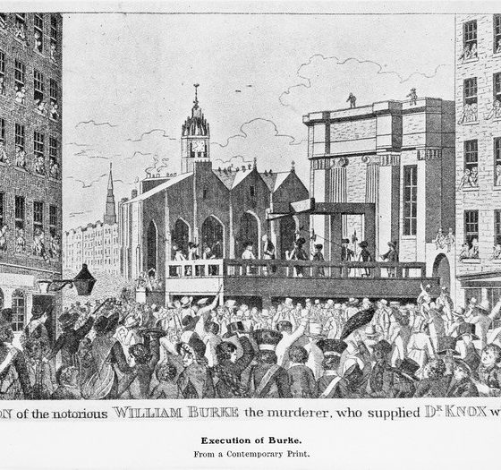 Execution of the William Burke