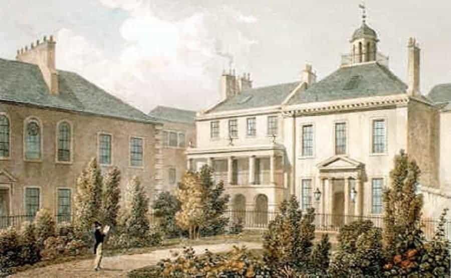 Surgeon's Square, Edinburgh. Site of Old Surgeon's Hall