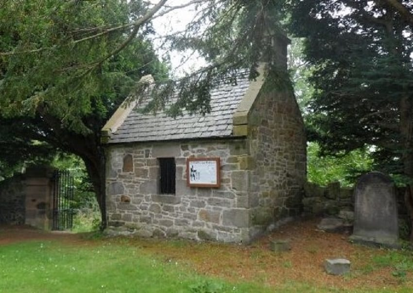Watch-house at Old Pentland Kirkyard, Midlothian