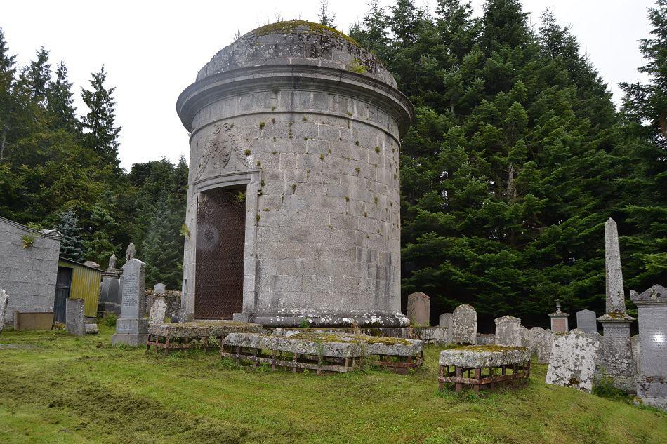 Mausoleum of Elyza Fraser Cluny Aberdeenshire