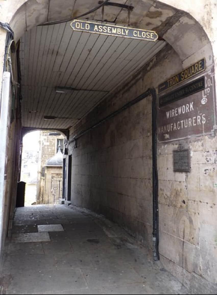 Old Assembly Close, Royal Mile Edinburgh