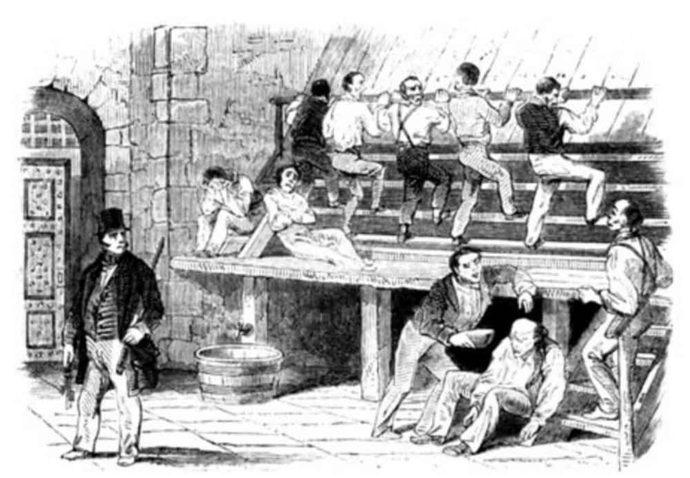 The Treadmill at Coldbath Fields Prison - G.W.M Reynold The Mysteries of London