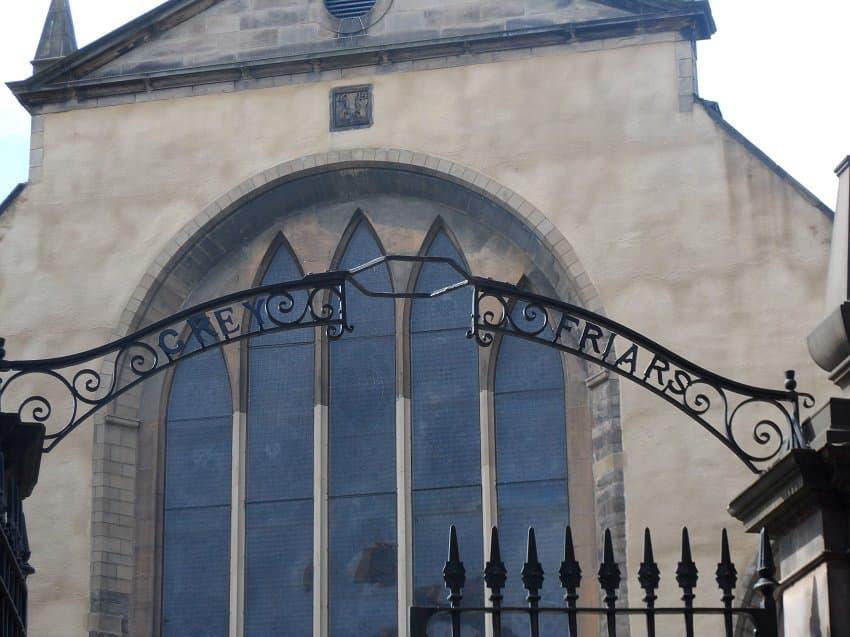 Enterance to Greyfriars Kirkyard Edinburgh