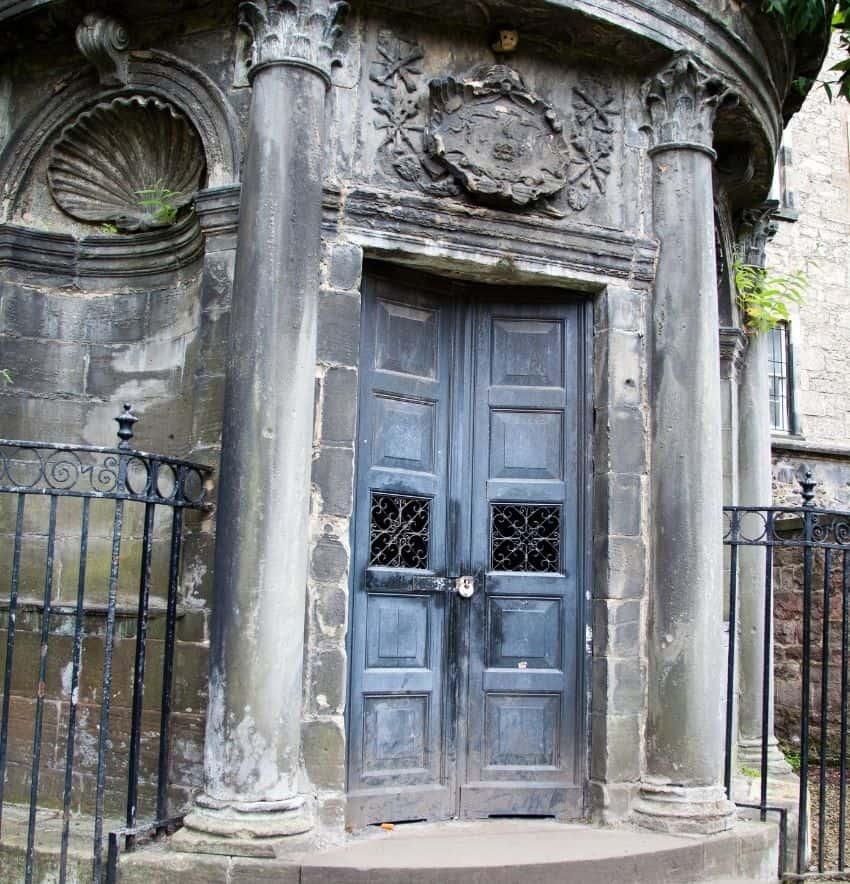 George Mackenzie mausoleum Greyfriars Kirkyard Scotland