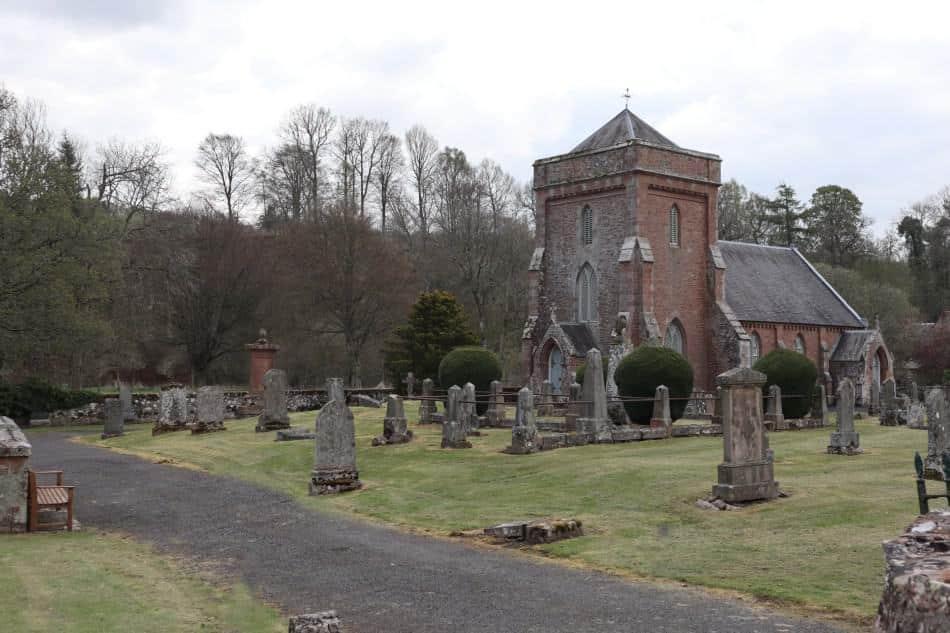Hobkirk Parish Church Scottish Borders