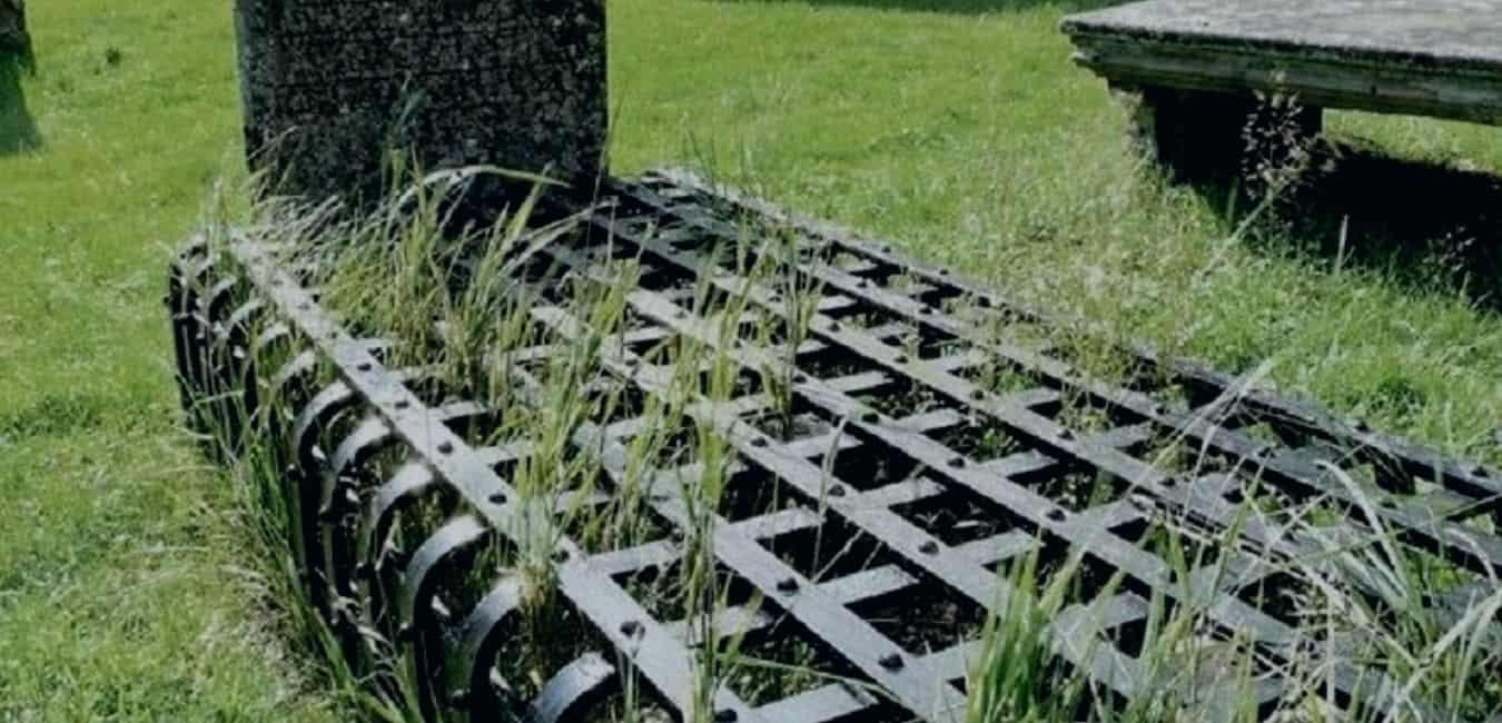 Grave of Seath Mor Rothimurchur Scottish Highlands