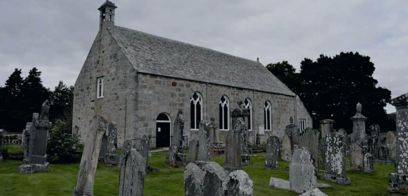 Cromdale Parish Church Scottish Highlands