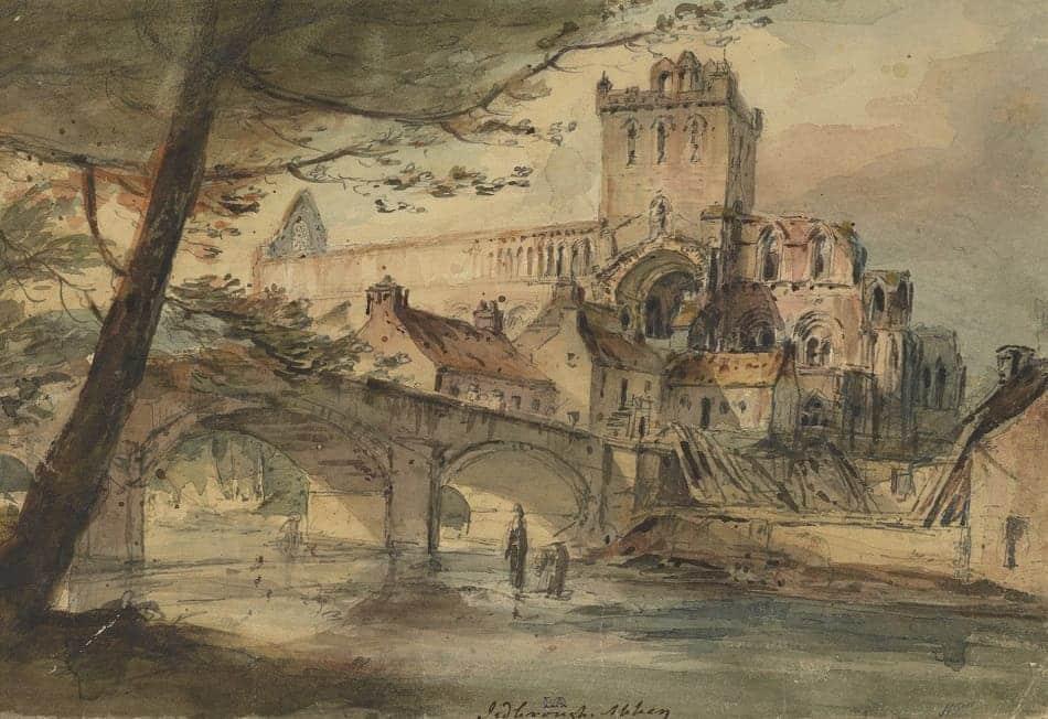 Jedburgh Abbey. H. Maliphant via National Galleries, Scotland