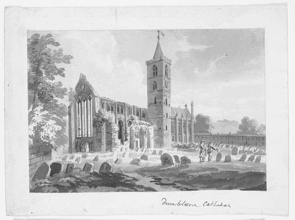Dunblane Cathedral Via National Library Scotland