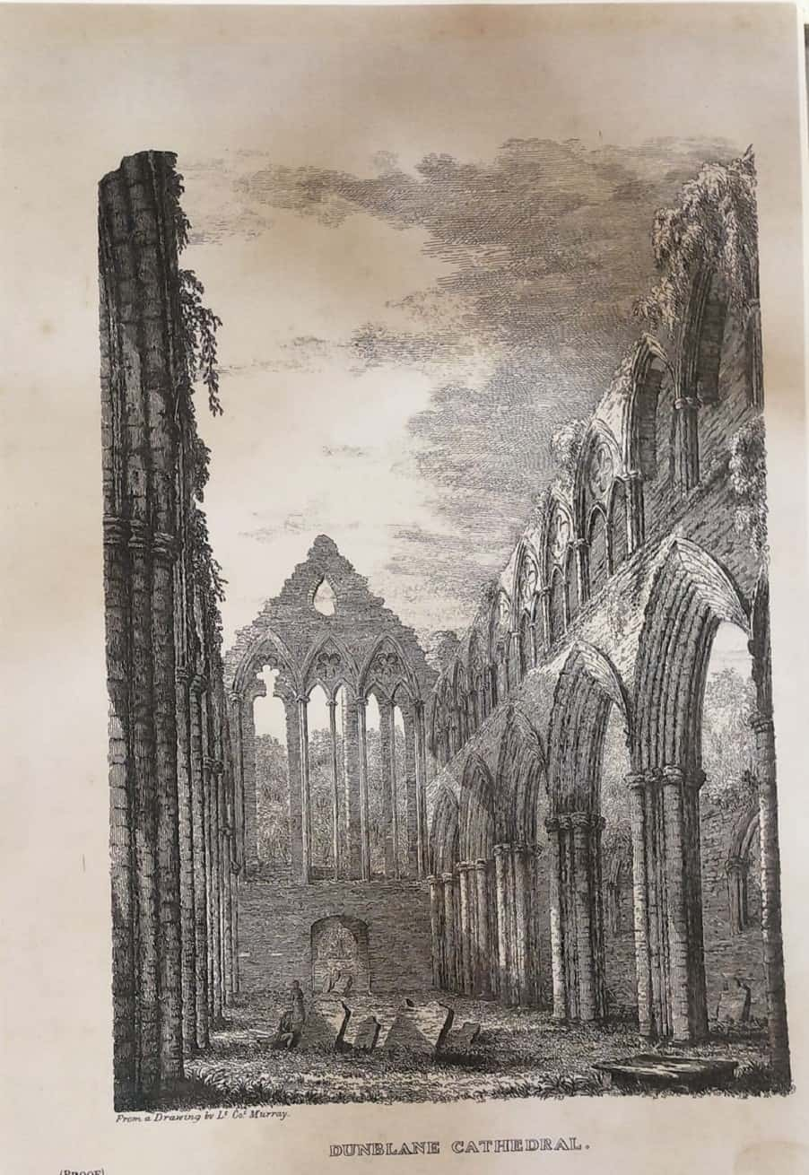 Ruined Nave at Dunblane Cathedral